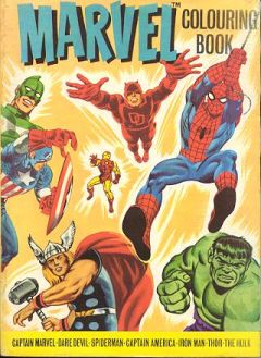 marvel colouring book 1976 marvel comics group - Marvel Coloring Book